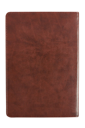 In Christ Alone Two-Tone LuxLeather Journal