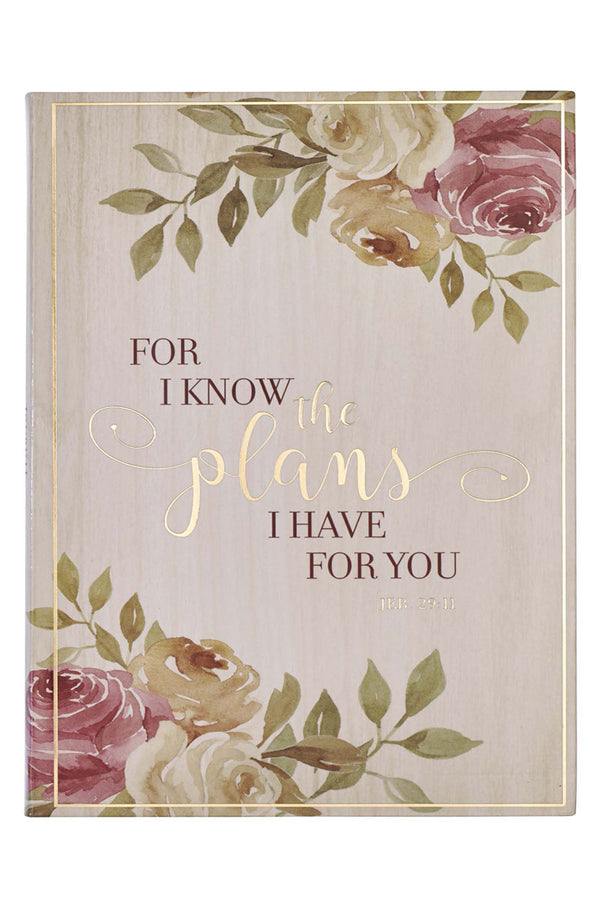 Jeremiah 29:11 'I Know The Plans' Flexcover Journal