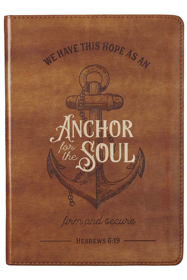 Anchor For The Soul LuxLeather Journal