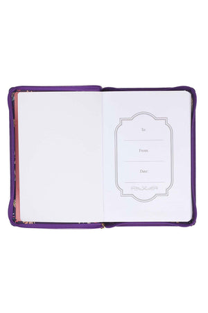 Jeremiah 29:11 'I Know The Plans' LuxLeather Flexcover Zippered Journal