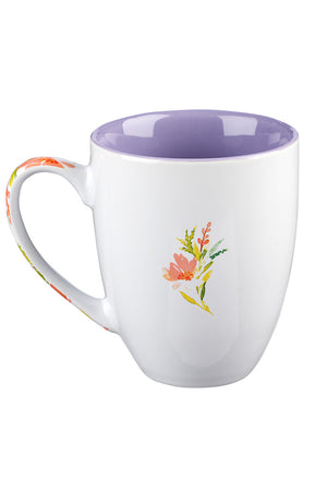 Give Me Jesus Floral Watercolor Mug