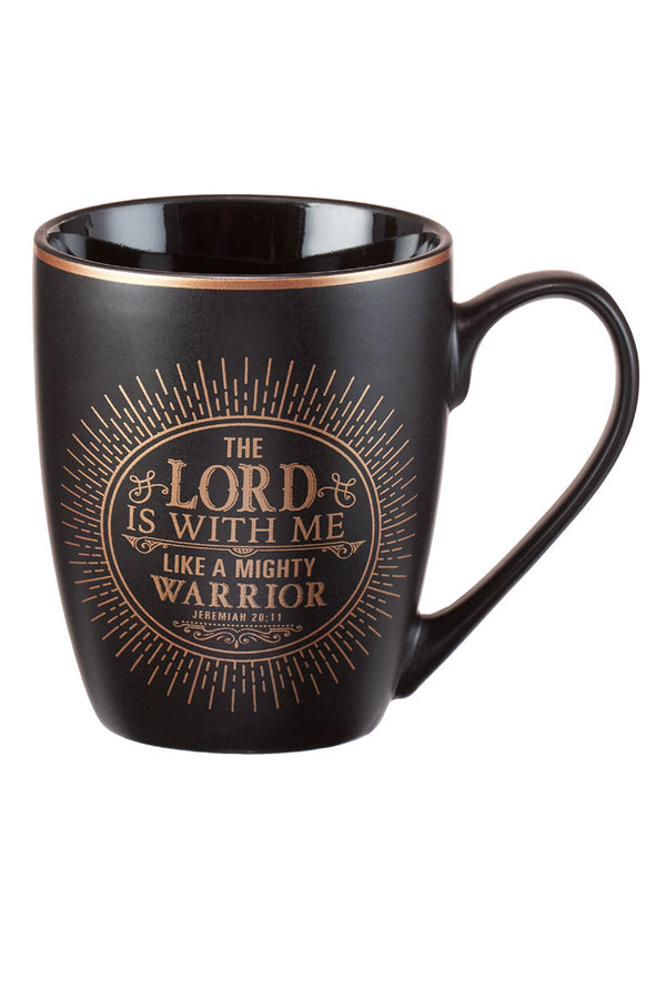 Jeremiah 20:11 'The Lord Is With Me' Mug