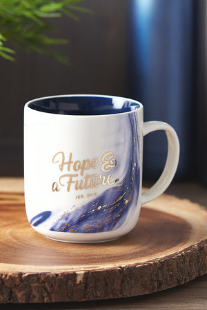 Jeremiah 29:11 'Hope & A Future' Mug