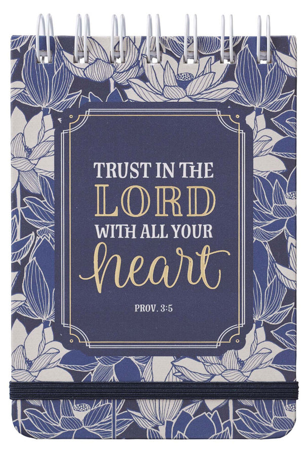 Proverbs 3:5 'Trust In The Lord' Wirebound Notepad