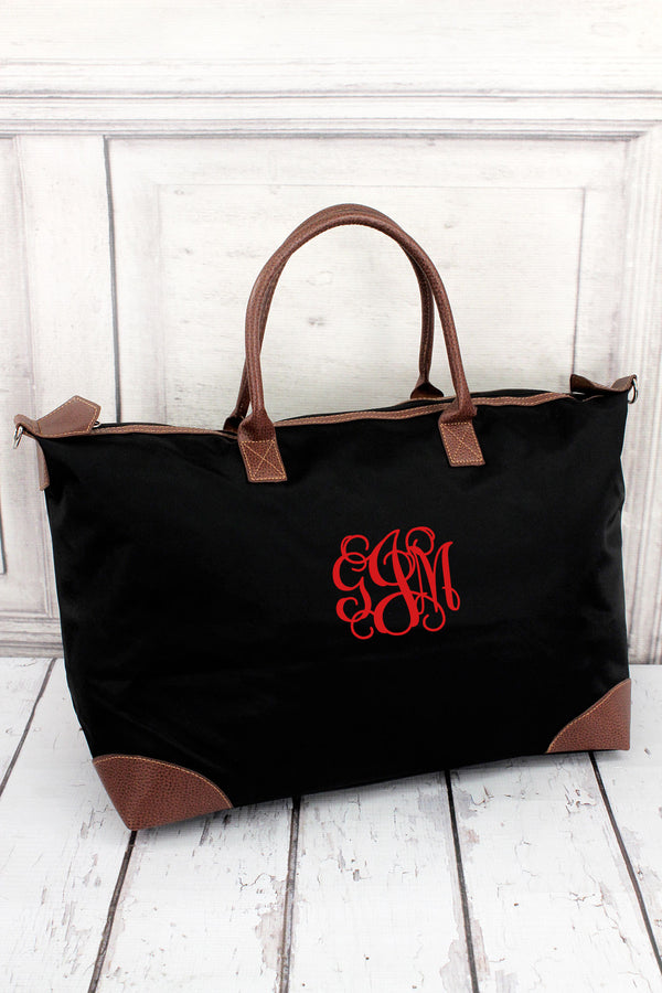 *Black Large Tote Bag