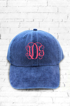 Washed Royal Baseball Cap