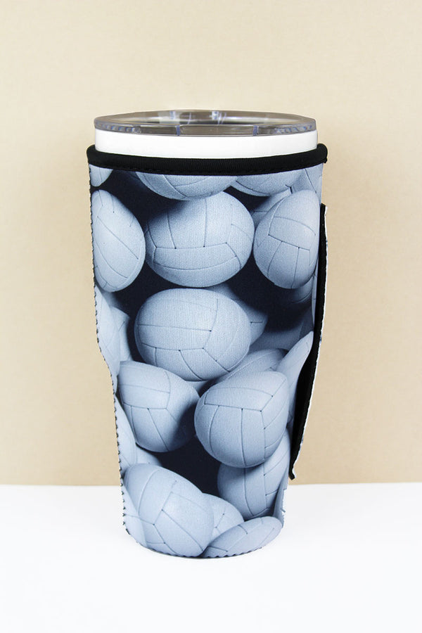 Volleyball Tumbler Drink Sleeve
