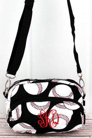 Baseball Travel Crossbody Bag