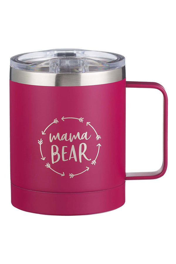 Mama Bear Stainless Steel Travel Campfire Mug