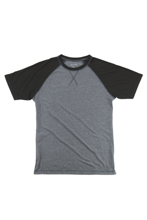 Boxercraft Black and Granite Double Play Tee