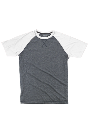 Boxercraft White and Granite Double Play Tee