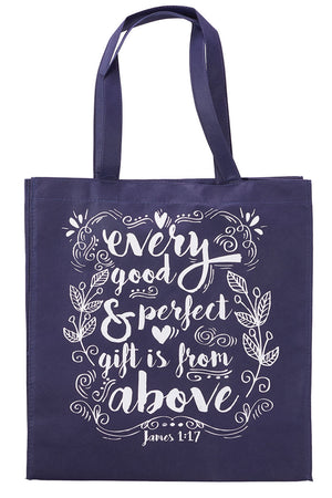 James 1:17 'Every Good & Perfect Gift' Tote Bag