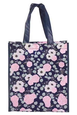 Psalm 46:10 'Be Still & Know' Floral Tote Bag