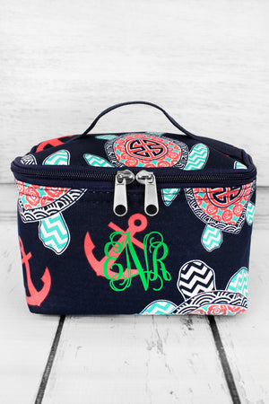 Preppy Under the Sea Cosmetic Case