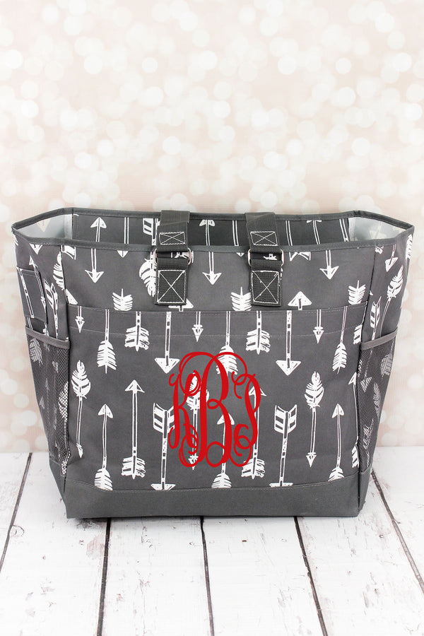 Straight & Arrow Gray Everyday Organizer Tote
