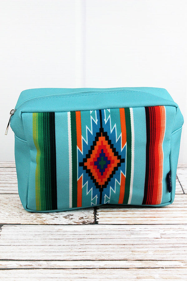 Adobe Diamond Turquoise Cosmetic Case