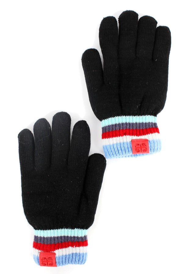 Kid's Black Play All Day Gloves