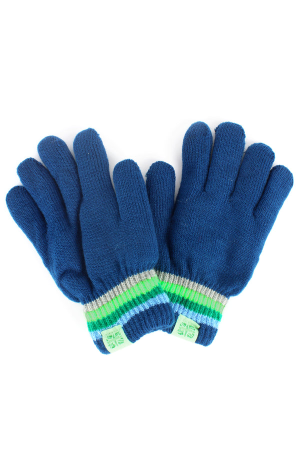 Kid's Navy Play All Day Gloves