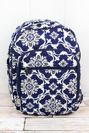 Zen Garden Quilted Oversized Backpack