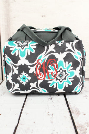 Serene Garden Insulated Bowler Style Lunch Bag