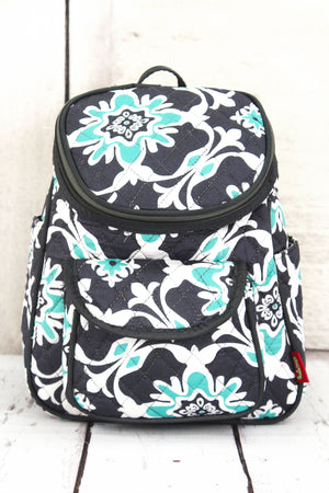 Serene Garden Quilted Petite Backpack