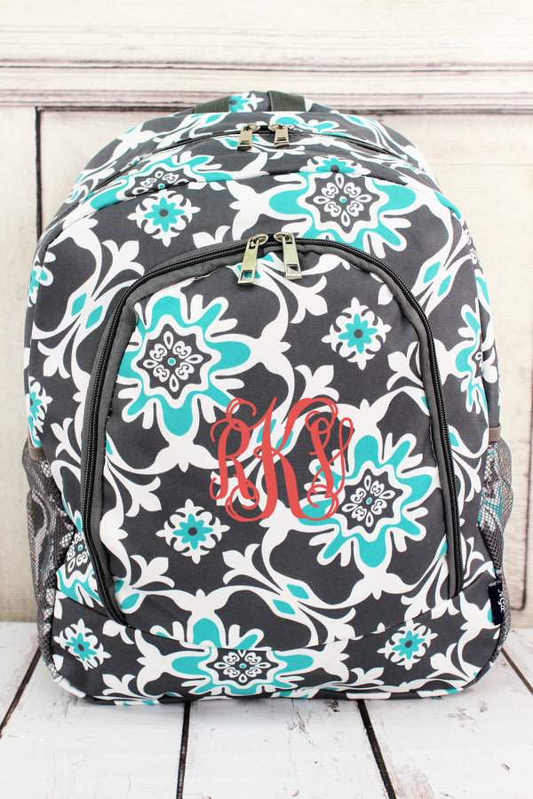 Serene Garden Large Backpack