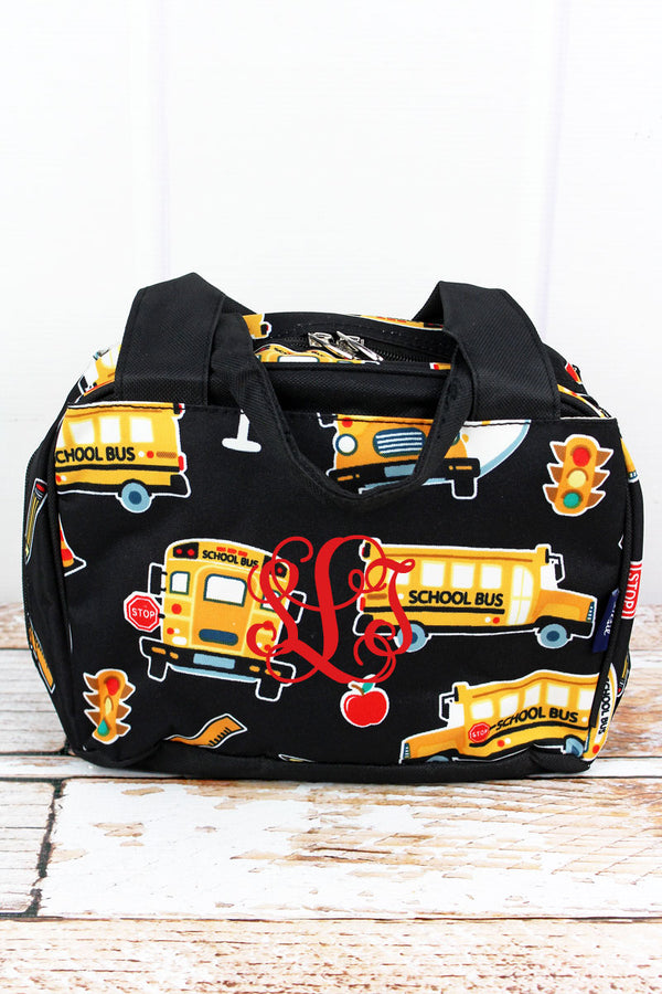 Back To School Insulated Bowler Style Lunch Bag
