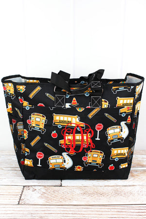 Back To School Everyday Organizer Tote