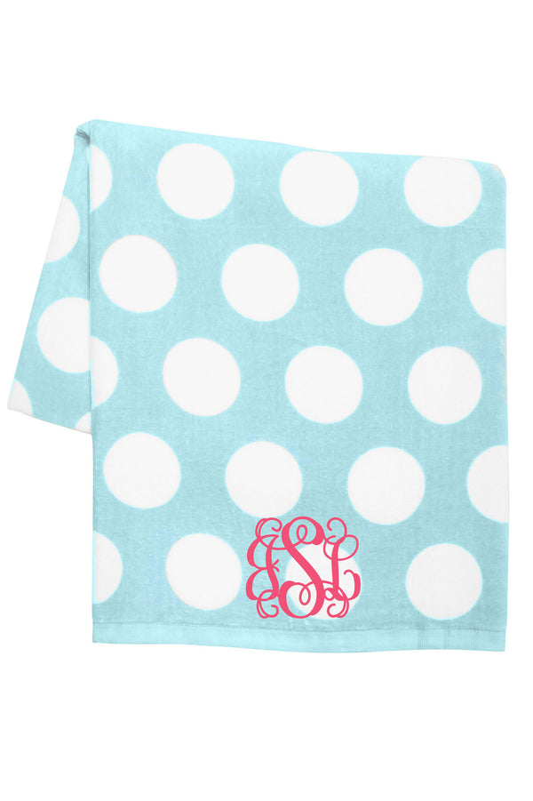 Polka Dot Towel *Personalize It