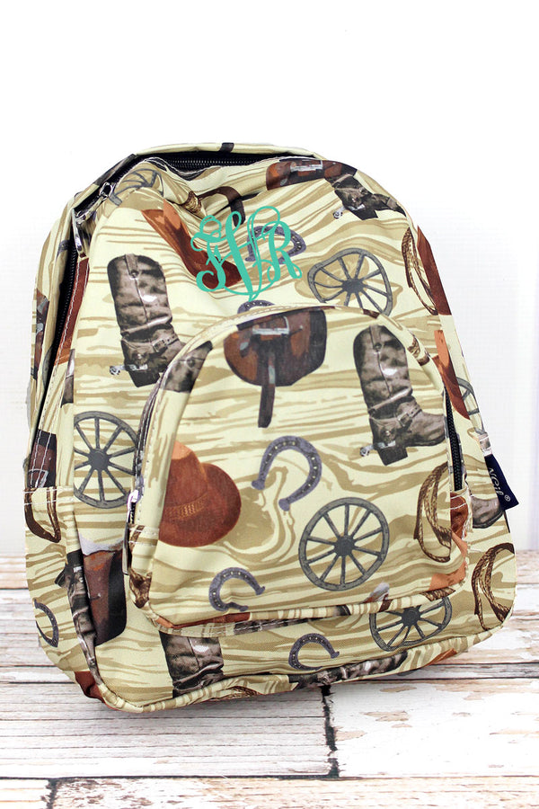 Wild Wild West Small Backpack