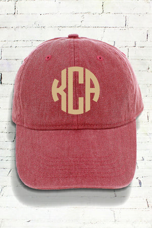 Brick Comfort Colors Pigment Dyed Canvas Baseball Cap #CC0104