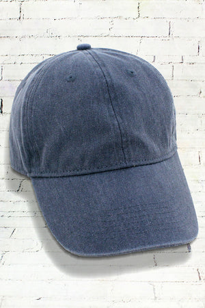 Denim Comfort Colors Pigment Dyed Canvas Baseball Cap