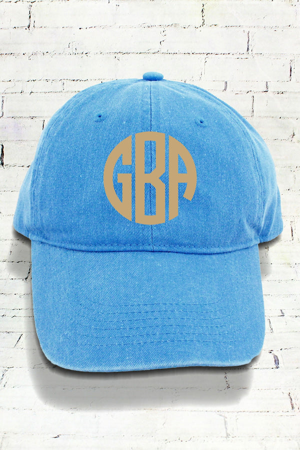 Royal Caribe Comfort Colors Pigment Dyed Canvas Baseball Cap #CC0104
