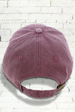 Vineyard Comfort Colors Pigment Dyed Canvas Baseball Cap