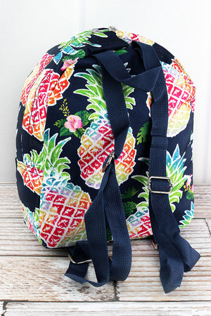 Rainbow Pineapple Small Backpack