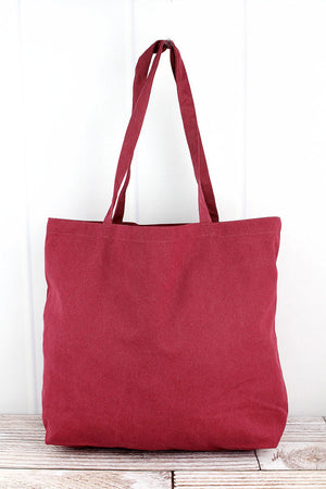 Liberty Bags Crimson Large Canvas Tote