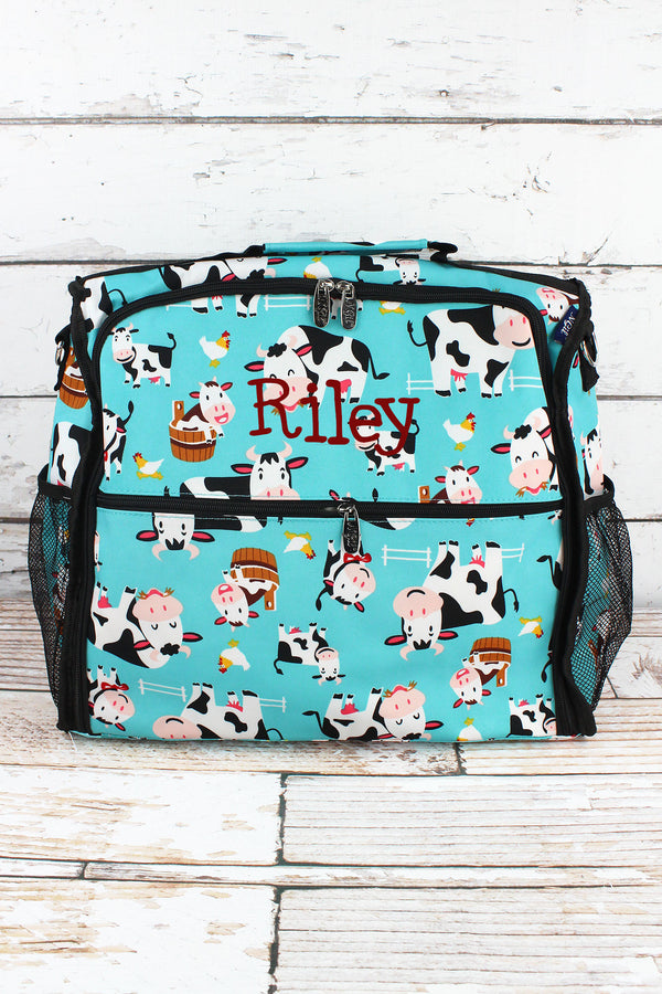Udderly Cute Cows Diaper Backpack