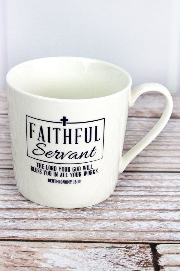Faithful Servant Cafe Mug