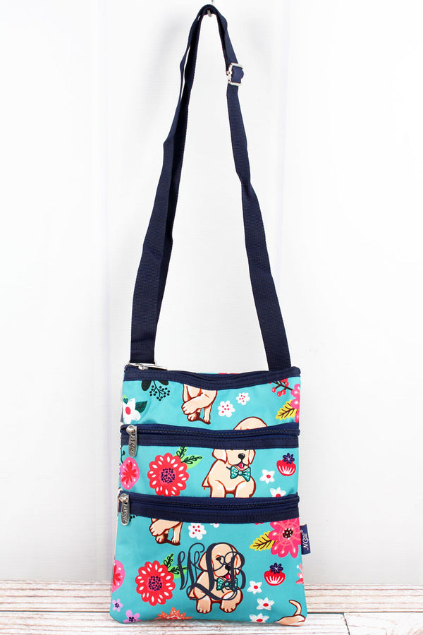 Dapper Dogs Crossbody Bag
