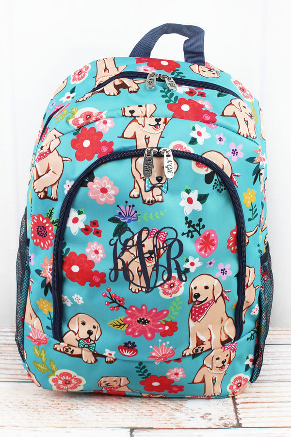 Dapper Dogs Large Backpack