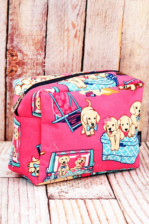 Dog Days of Summer Cosmetic Case