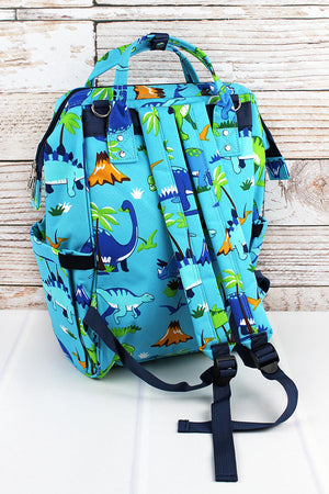 Dinosaur World Diaper Bag Backpack