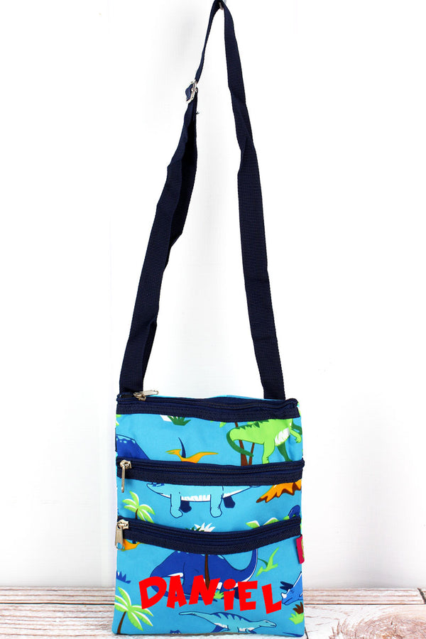 Dinosaur World Crossbody Bag
