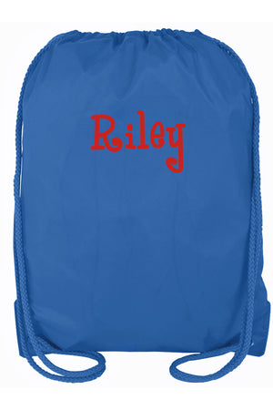 Royal Blue Drawstring Backpack #8881 ROYAL