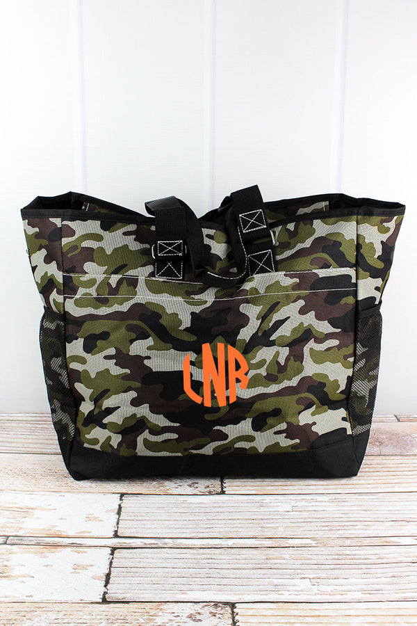 Army Camo Everyday Organizer Tote