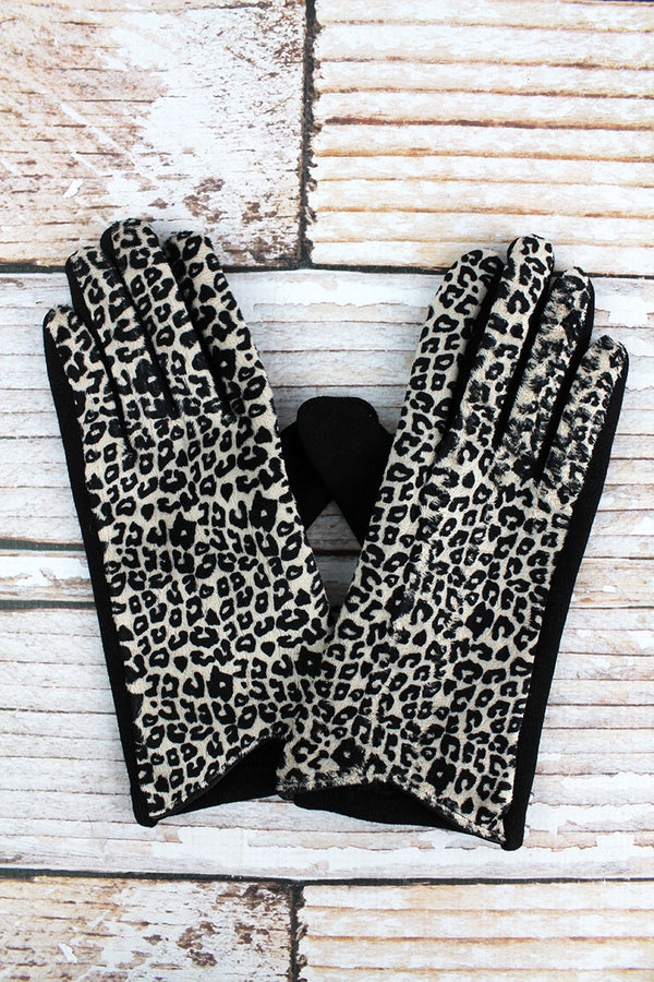 One Pair Seeing Spots Smart Touch Gloves, Black