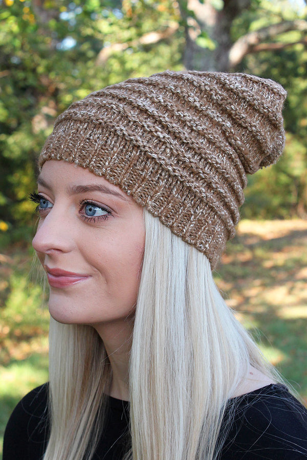 Montreal Morning Pom Pom Beanie, Taupe
