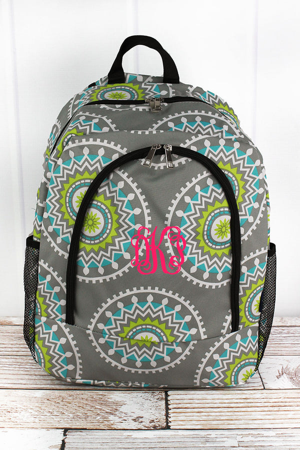 Mandala Garden Large Backpack