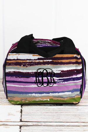 NGIL On The Horizon Insulated Bowler Style Lunch Bag with Black Trim