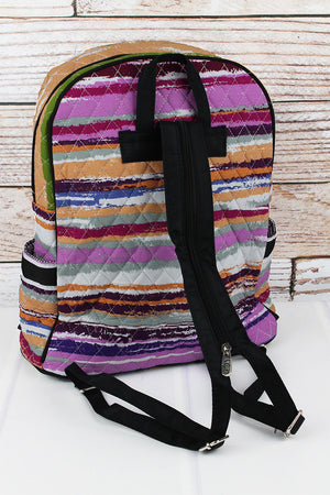 On The Horizon Quilted Backpack